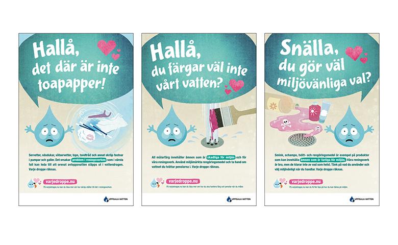 Annonser Uppsala Vatten Varje Droppe Räknas