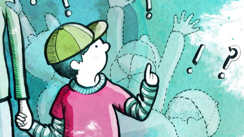 Ett Gäng Illustrationer Till Pralin