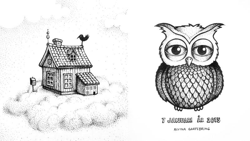 Illustrationsutmaning På Instagram