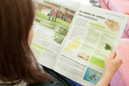 Tidning Med Samhällsinformation