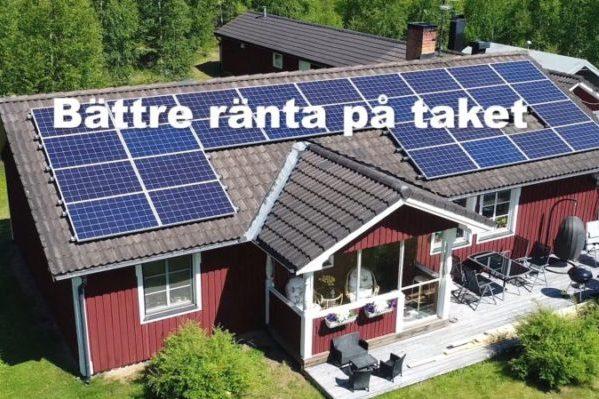 Falu solenergi reklamfilm – Bättre ränta