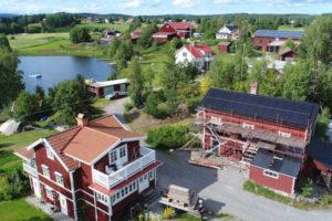 Falu Solenergi Referensfoton