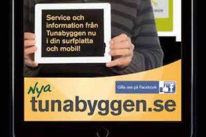 Tunabyggen Kampanj Webbplats